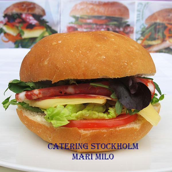 Frukostfralla Catering Stockholm med  Salami Ventricina Piccante Pris 24:-